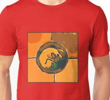 SLEEPING ORANGE DOG  Unisex T-Shirt