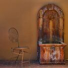 Chair and Fountain by Jared Revell