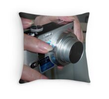 LUMIX X 10 IN ACTION Throw Pillow