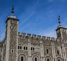 White Tower, Blue Sky by Nicole Petegorsky