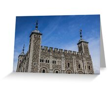 White Tower, Blue Sky Greeting Card