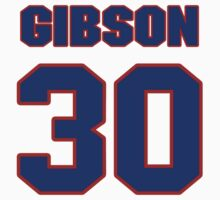 National baseball player Kirk Gibson jersey 30 by imsport