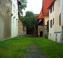 Empty Courtyard by michelle123