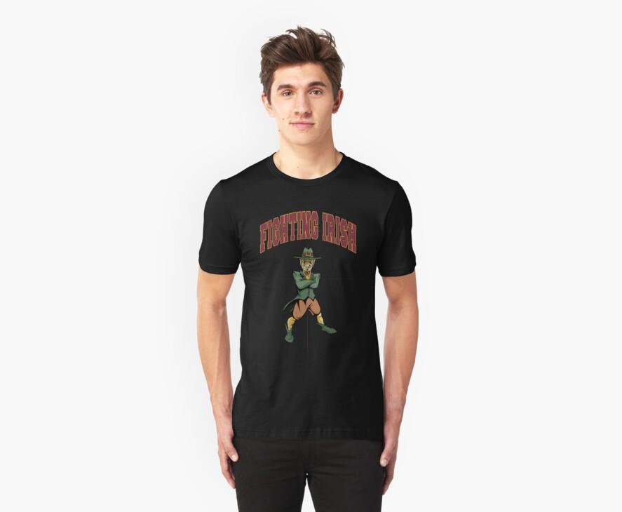 Fighting Irish T-Shirt by Che Dean