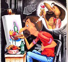 the Starving Artist by Karsten Stier