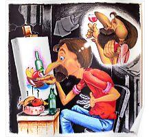 the Starving Artist Poster
