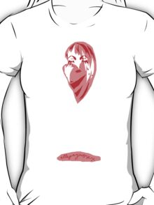 'Ruby Heart-Broken Rose' T-Shirt