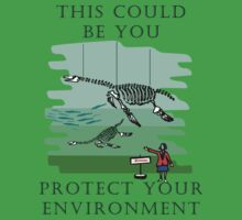 Protect your Environment T-Shirt by Che Dean