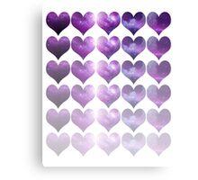Galaxy Heart Fade Canvas Print