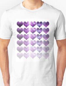 Galaxy Heart Fade Unisex T-Shirt