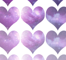 Galaxy Heart Fade Sticker
