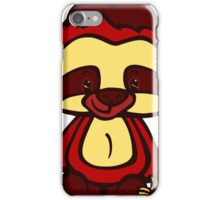 Mr. Squiggles and friends - Mr. Sloth iPhone Case/Skin