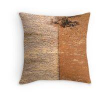 Coal Valley Abstract Throw Pillow