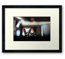 Espresso glass Framed Print