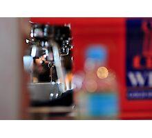 Drops of Espresso Photographic Print