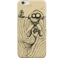 Sea Monster no.1 iPhone Case/Skin