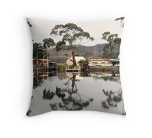 Orford River Throw Pillow