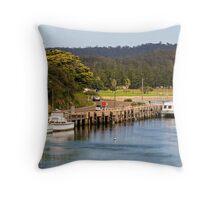 Wagonga Inlet at Narooma Throw Pillow