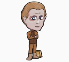 Star Trek DS9 - Odo with his Bucket Changeling Shapeshifter Chibi Sticker by Zphal