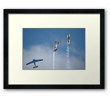 Southern Knights - Vertical Climb & Formation Break, 2007 Framed Print