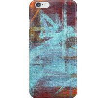 Abstract painted canvas #2 iPhone Case/Skin