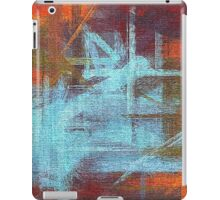 Abstract painted canvas #2 iPad Case/Skin