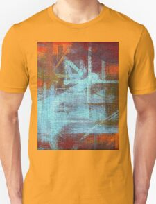 Abstract painted canvas #2 Unisex T-Shirt