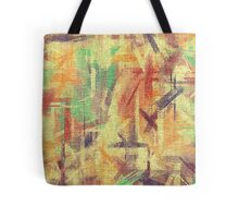 Abstract painted canvas #4 Tote Bag