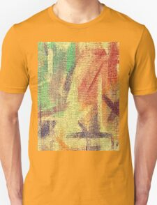 Abstract painted canvas #4 Unisex T-Shirt