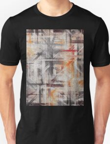 Abstract painted canvas #5 Unisex T-Shirt