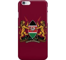 Kenyan Court of Arms iPhone Case/Skin