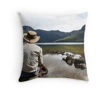 """ Wish I Was There"" Throw Pillow"