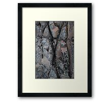 X marks the spot Framed Print