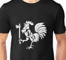 Kenyan Court of Arms Cockerel with Axe - White Unisex T-Shirt