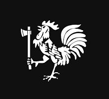 Kenyan Court of Arms Cockerel with Axe - White Unisex T-Shirt