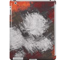 Abstract painted canvas #6 iPad Case/Skin