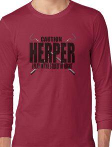 CAUTION HERPER Long Sleeve T-Shirt