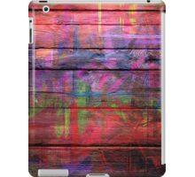 Abstract painted wood iPad Case/Skin