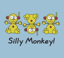 Silly Monkey! by Heidi Counsell