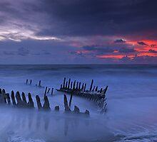 Dicky Beach Sunrise by Ben Messina