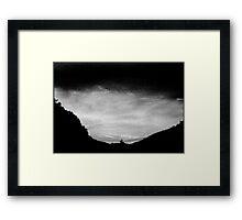 big valley little sky..........daniland Framed Print
