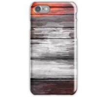Abstract painted wood #6 iPhone Case/Skin