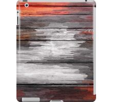 Abstract painted wood #6 iPad Case/Skin