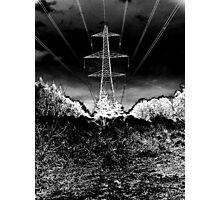 """""""Elec Tree City"""" Photographic Print"""