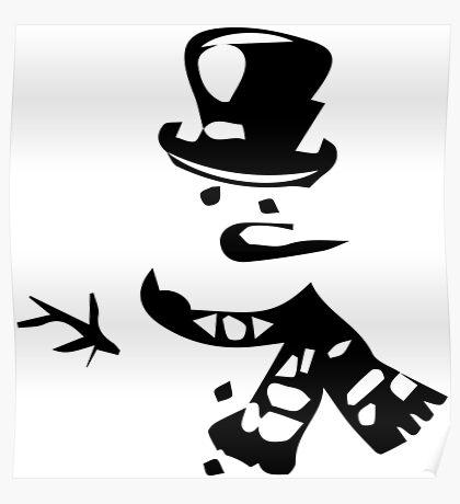 Snow Man Poster