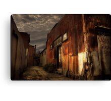 Fitzroy back alley Canvas Print