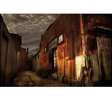 Fitzroy back alley Photographic Print
