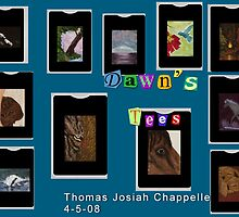 Dawn Davies' Tees by Thomas Josiah Chappelle