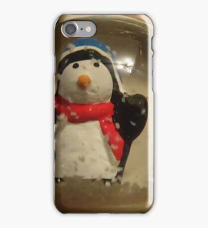 Snow globe iPhone Case/Skin
