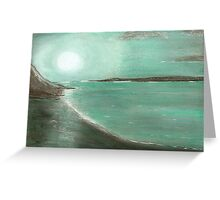 JADE MOON Greeting Card